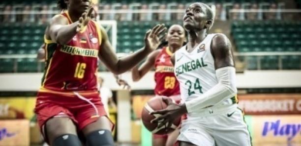 Afrobasket féminin 2021 : Le Sénégal s'impose face au Mozambique et défiera le Nigéria en demi-finale, demain