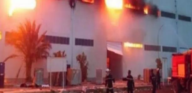 Zac Mbao : incendie à l'usine tapis rouge
