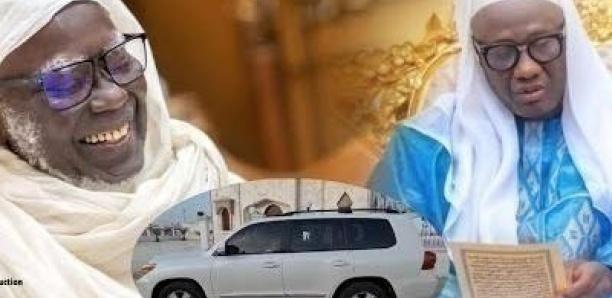 Touba : La voiture offerte par Serigne Mountakha à Serigne Abdou Samad