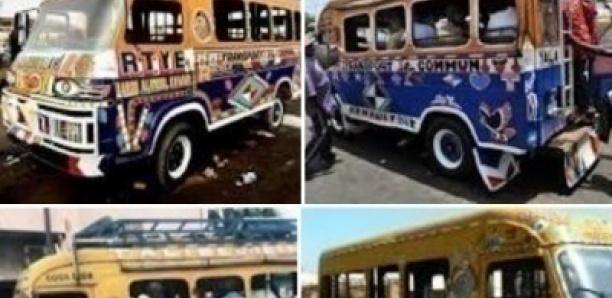 Transport public : Le Sénégal annonce le retrait des véhicules de plus de 40 ans
