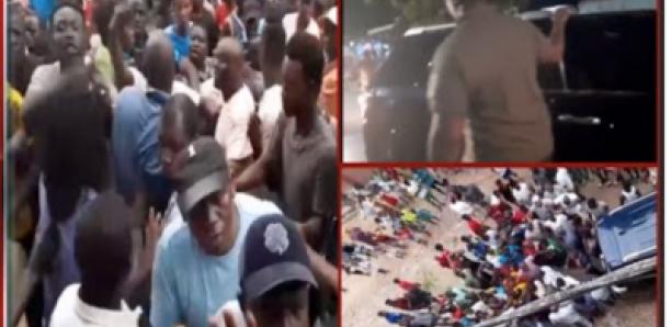 Sonko violemment attaqué à Ziguinchor…Voici la vidéo qui a déclenché la bagarre