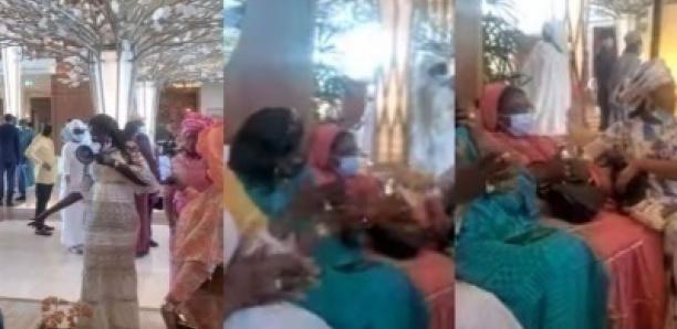 Entourée et chantée par ses griottes, Mariéme faye Sall en toute discrétion à Dubai