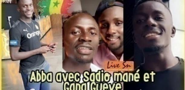 bba avec Sadio mané, Gana Gueye et Toute l'équipe nationale