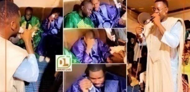 Après une longue dispute, omaro se reconcilie avec serigne abdoulaye diop khass et pleure