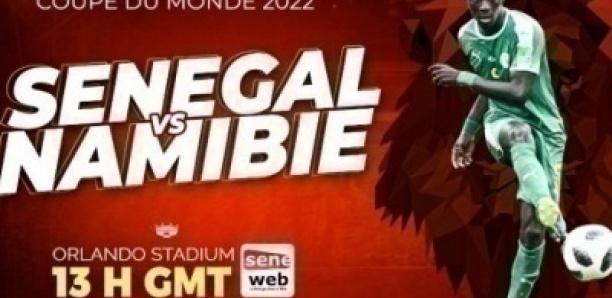 Éliminatoires Mondial-2022 : Suivez le Match Namibie VS Sénégal