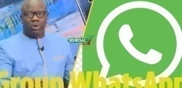 Le Group WhatsApp de Ahmed Aidara qui fait le buzz
