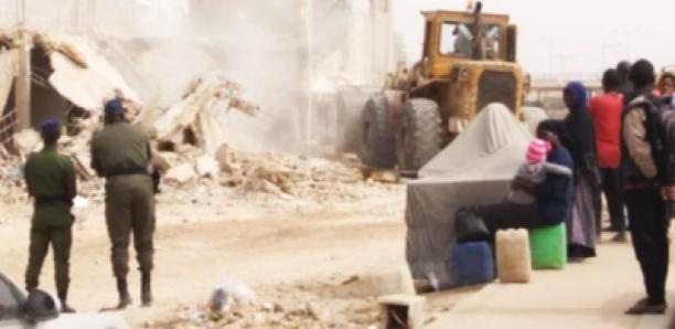 Kounoune : plus de 20 maisons démolies, les victimes dans tous leurs états…