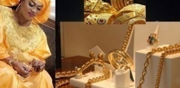 Les Thiantacounes offrent des parures en diamant à Sokhna Aïda Diallo