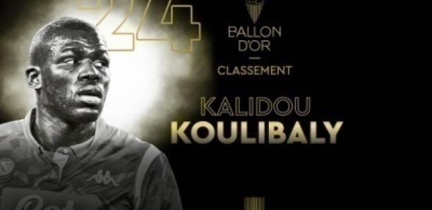 Ballon d'Or 2019 : Kalidou Koulibaly termine 24e devant Benzema, Wijnaldum…