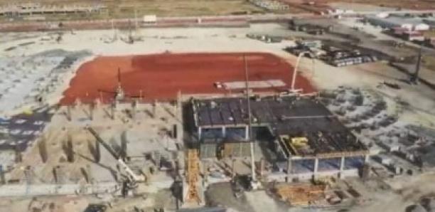 Infrastructures: Voici l'état d'avancement du stade de Diamniadio